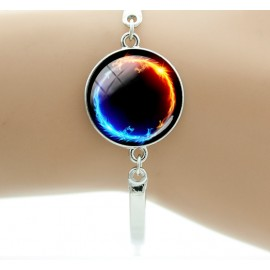 Energie healing Ying Yang Armband