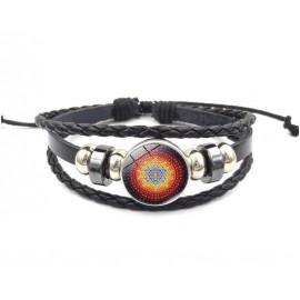 Heilige driehoekig Sri Yantra armband