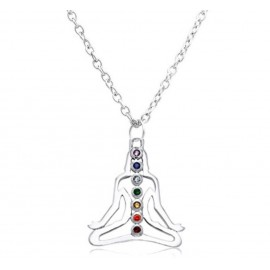 7 Chakra Healing & Balancing Meditation Necklace