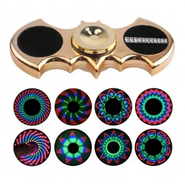 Luminous Batman Fidget Hand Spinner with 8 light shows.