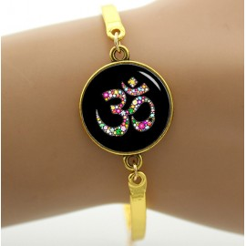 Colorful Ohm Namah Bracelet