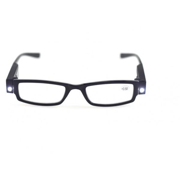 Multi-sterkte leesbril met LED verlichting