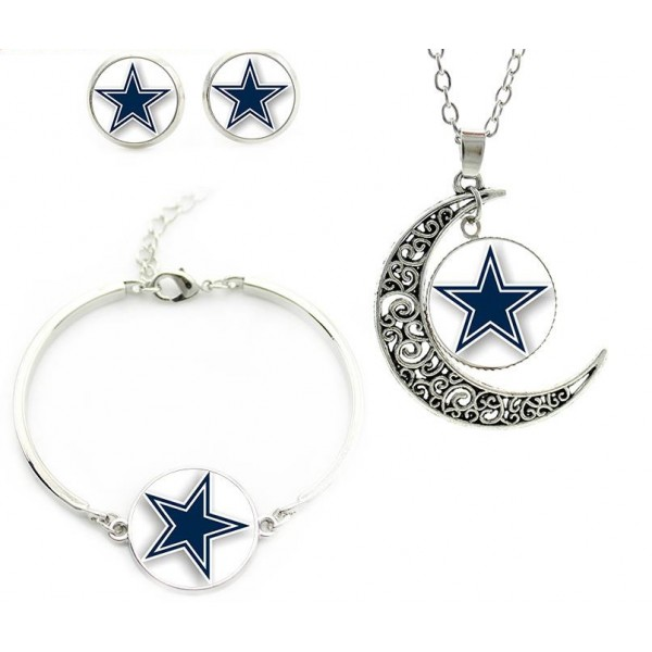 Blue STAR Jewelry set