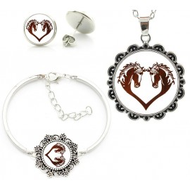 Hoese love Jewelry set